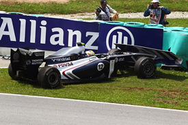 Pastor Maldonado, Williams, Sepang 2011