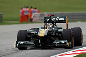 Davide Valsecchi, Lotus, Malaysian GP