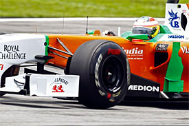 Paul di Resta, Force India, Malaysian GP