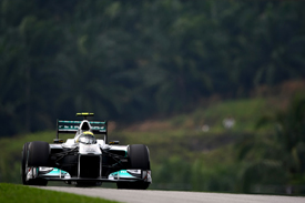 Nico Rosberg, Mercedes, Sepang 2011