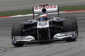Rubens Barrichello, Williams, Sepang 2011