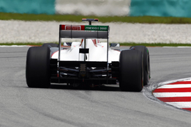 Kamui Kobayashi, Sauber, Sepang 2011