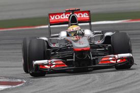 Lewis Hamilton, McLaren, Sepang 2011