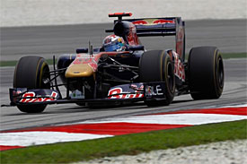 Sebastien Buemi, Toro Rosso, Malaysian GP