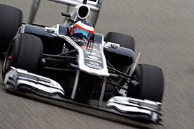 Rubens Barrichello, Williams, China 2011