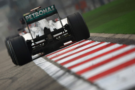 Michael Schumacher, Mercedes, Shanghai 2011