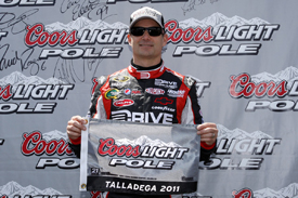 Jeff Gordon takes pole at Talladega