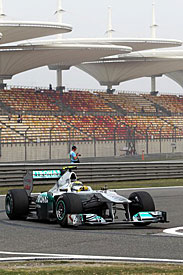 Nico Rosberg, Mercedes, China 2011