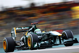Lotus hails 'best performance ever'