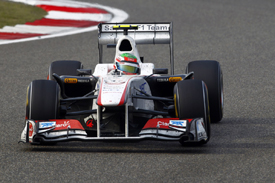 Sergio Perez, Sauber, Shanghai 2011