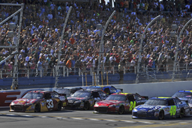 Talladega NASCAR finish