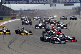 Turkish Grand Prix start 2010