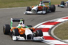 Force India, Shanghai 2011
