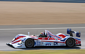 Ben Collins Mike Newton Tommy Erdos RML HPD Le Mans test day 2011