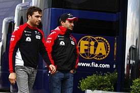 Jerome D'Ambrosio and Timo Glock, Virgin, 2011
