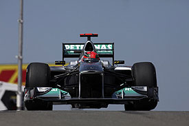 Michael Schumacher, Mercedes, 2011