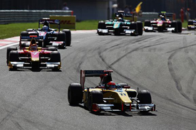 Romain Grosjean leads in Turkey