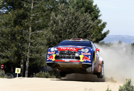 Sebastien Loeb, Citroen, Sardinia 2011