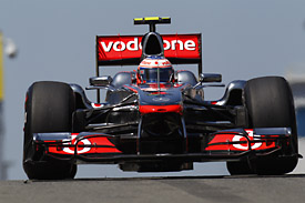 Jenson Button McLaren MP4-26