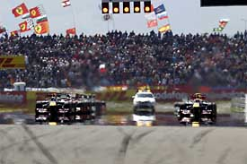 Start of the 2011 Turkish GP