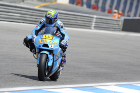 Alvaro Bautista, Suzuki, Estoril 2011