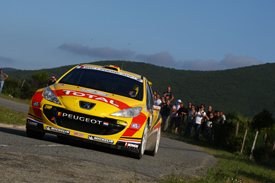 Thierry Neuville, Kronos Peugeot, Corsica 2011