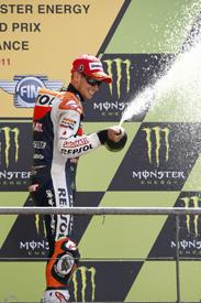 Casey Stoner wins at Le Mans