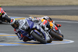 Jorge Lorenzo, Yamaha, Le Mans 2011