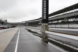 Rain at Indianapolis