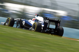 Rubens Barrichello, Williams, Istanbul 2011