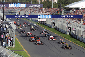 Australian Grand Prix start 2011