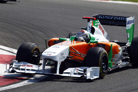 Adrian Sutil, Force India, Istanbul 2011