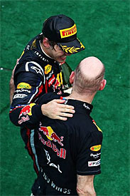 Newey: Vettel on top of his game