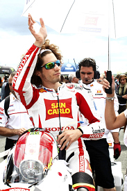Marco Simoncelli Gresini Honda 2011 French Grand Prix