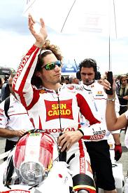 Marco Simoncelli Gresini Honda 2011 French Grand Prix