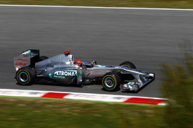 Michael Schumacher, Mercedes, Catalunya 2011