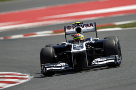 Pastor Maldonado, Williams, Catalunya 2011