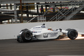 Ho-Pin Tung crashes in Indy 500 qualifying