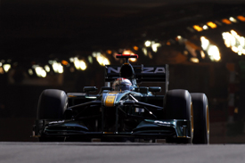Jarno Trulli, Lotus, Monaco tunnel 2010
