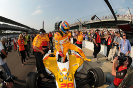 Ryan Hunter-Reay, Andretti, Indianapolis 2011