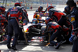 Red Bull revises pitstop procedures 