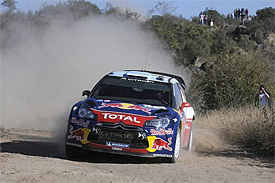 Loeb leads after superspecial