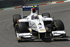 Van der Garde loses pole after penalty