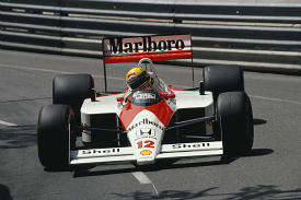 Ayrton Senna 1988 Monaco Grand Prix McLaren