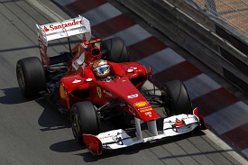 Fernando Alonso Ferrari Monaco grand prix 2011