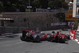 Lewis Hamilton clashes with Felipe Massa in Monaco