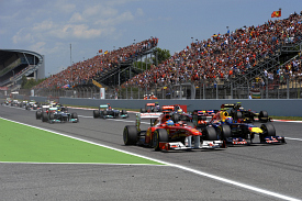 Spanish Grand prix 2011 start