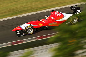 Lewis Williamson MW Arden GP3 test Hungaroring