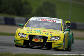 Martin Tomczyk Phoenix Audi Spielberg 2011 DTM