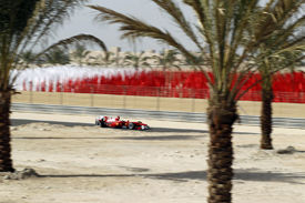 Felipe Massa in Bahrain practice in 2010